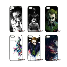Joker In Batman DIY Customized Phone Cover Case For iPhone 4 4S 5 5C SE 6 6S 7 Plus Samsung Galaxy Grand Core Prime Alpha(China)