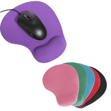 Non-slip Backing Mouse Pad Mat Comfort Gel Wrist Support for PC Laptop