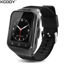 XGODY S8 GPS Watch Smart Watch Android With HD Camera SIM Card 512MB+4GB Wifi 3G GSM Wrist Watch Cell Phone Bluetooth Smartwatch(China)