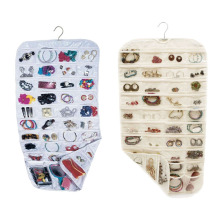80 Pockets Storage Bags Jewelry Hanging Storage Organizer Holder Organizer Display Earring Rings Bracelets Hanging Organizer