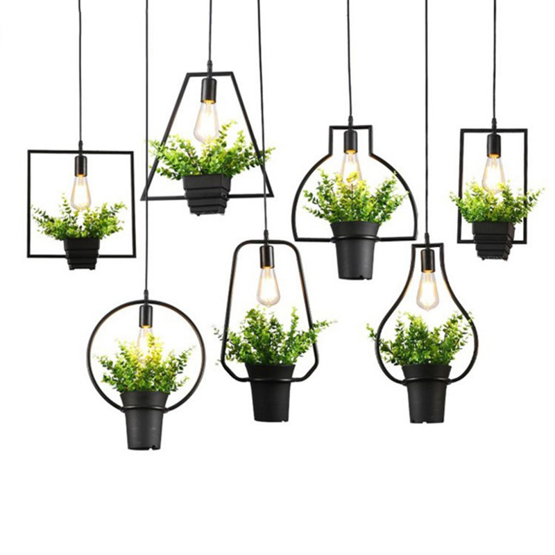 Vintage Pendant Lights Luminaire Lamp Loft E27 Hanglamp Nordic Dining Room Kitchen Designer Hanging Lamps Avize Lustre Lighting<br>