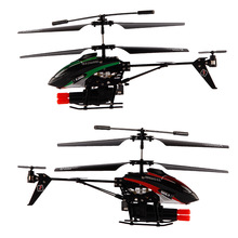Wltoys V398 3.5CH RC Helicopter Missile Launching Rc Shooter Helicopter with Gyro Hobees Cool Missile Launching