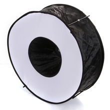 "Mayitr 1pc 45cm/18"" Camera Softbox Portable Ring High Quality Flash Collapsible Magnetic Round Softbox Photography Tool"