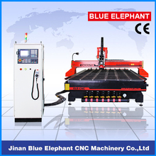 good quality cnc machinery china woodworking 2000*3000/2000*4000mm T slot & vacuum table cnc router