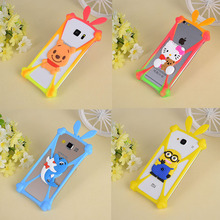 Cover For Alcatel One Touch Pixi 3 4.0 4013 4050 4013X 4013D 4050X Cartoon Character Image Soft Silicone Case Universal Bumper