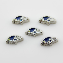 20Pcs Baltimore Ravens Charms Alloy American Football Sports Team Floating Charms Fit 30MM Glass Living Memory Lockets