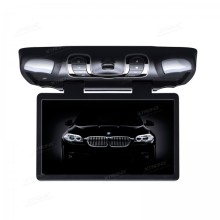 "15.6"" HD Digital Wide Screen Car Roof DVD Player with 1366*768 Resolution/170 Max Open Angle/Built-in IR & FM/32-Bit Games"