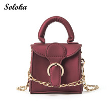 Mini Girl Bag Kids Bag Gifts Women Messenger Bags Candy Color Crossbody Handbags School Clutch Shoulder Bags