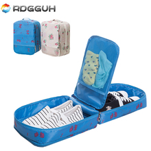 RDGGUH New Portable Handle Travel Bag Bags Packing Cubes Organizer For Shoes Bra Socks Storage Pouch Waterproof Luggage Shoe Bag