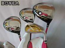13PCS 3 Star Boyea S-03 Golf Complete Set Women Golf Clubs Driver + Fairway Woods + Irons + Putter Ladies Golf Clubs