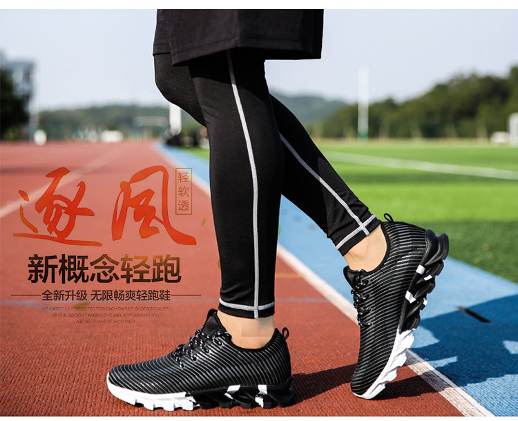 17New Hot Light Running Shoes For Men Breathable Outdoor Sport Shoes Summer Cushioning Male Shockproof Sole Athletic Sneakers 28