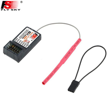 Wholeslae 1pcs Original FlySky FS-R6B FS R6B 2.4G 6CH Receiver For RC Transmitter FS T6 CT6B 9ch TH9X TH9B Drop freeship