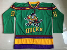 Ice Hockey Jersey Mighty Ducks Movie Jerseys #99 Banks Stitched Jerseys Winter Sport Wear Ice Wholesale Dropship Free Shipping