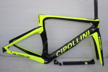 NK1K carbon road frame 2017 fluo yellow T1000 3K cardre carbone cipollini carbon frame BB30/BB68 more 8 colors, free shipping(China)