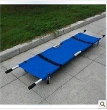 first aid body massage Medical stretcher folding stretcher canvas Aluminum stretcher nursing bed