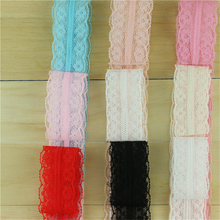 10yards ribbon 22mm clothes design flower net lace ribbon fabric trim garment decorative embroidered Supplies For Sewing