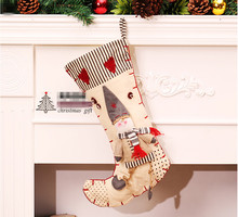 Large cartoon Christmas socks children 's gifts Christmas gift bags Christmas decorative gift pendant