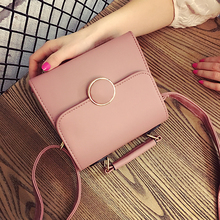 2017 New Arrival Flap Pu Shoulder Bags Shoulder & Crossbody Bags Polyester Single Fashion Women's Messenger Bag(China)