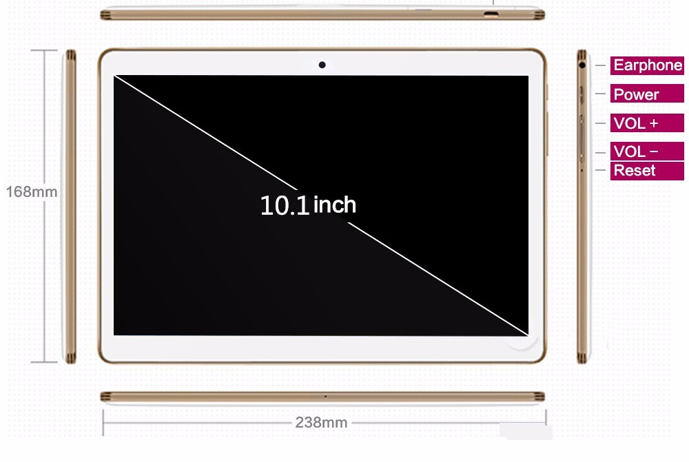 10.1inch tablet pc