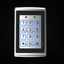 Metal Case Keypad Access Controller with Backlight  Single Door Control 1000 Users Independent Code Access Device Digital