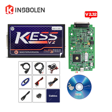 KESS V2.32 with ECM Titanium 2017 Latest Version ECU Manager Tuning Kit KESS V2 FW V4.036 No Token Limit OBD2 Master Version(China)
