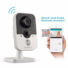 ANNKE HD 1080P Wireless IP Camera 2.0MP CCTV WIFI Camera Home Security baby Monitor Two-way audio built microphone and speaker(China)