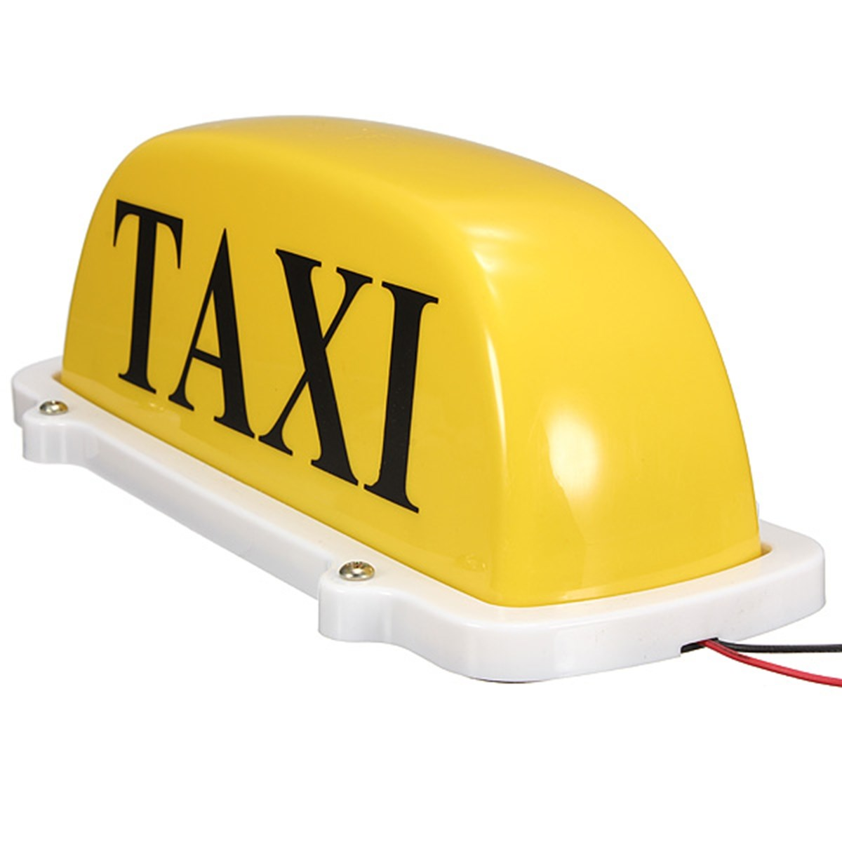 Hot Selling DC12V ABS Car Taxi Cab Roof Top Sign Light Lamp Magnetic Yellow Large-Size<br><br>Aliexpress
