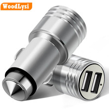 3.1A Dual Port USB Car Charger Mini Universal Fast Smart Car-Charger For Apple iPhone 7 LG Samsung Xiaomi &More Phone PC