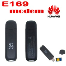 by dhl or ems 20 pieces Huawei E169 Hsdpa Modem 3G Usb Stick Support External Antenna And CE(China)