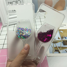 Buy Glitter Quicksand Phone Cases Meizu Pro 7 Case Bling Cute Srtars Cup Soft Silicon Back Cover 3D Capa for $3.57 in AliExpress store
