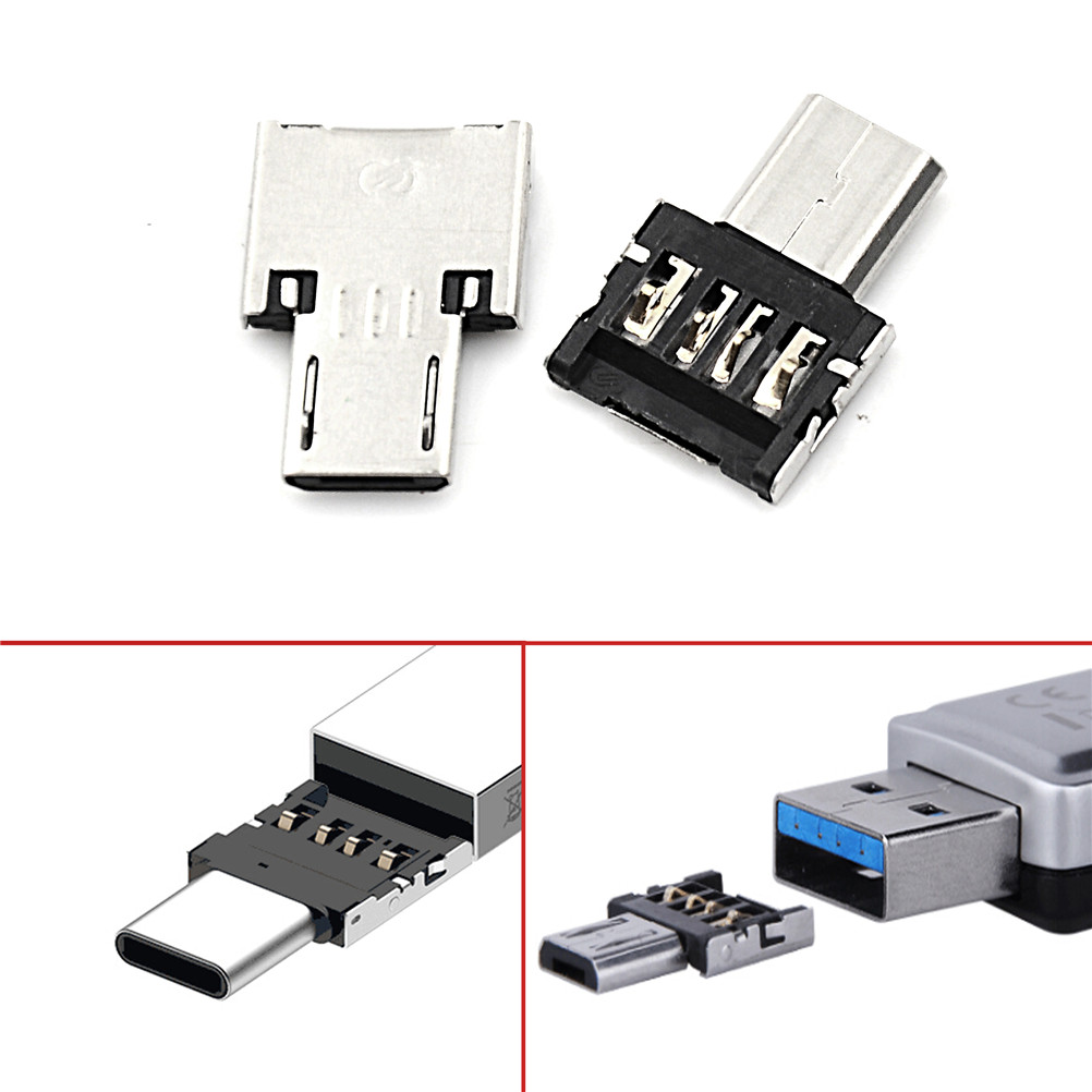 Micro USB Male To USB Female OTG Adapter Converter For Android Tablet Phone For Xiaomi For HTC For Samsung 3pcs/lot