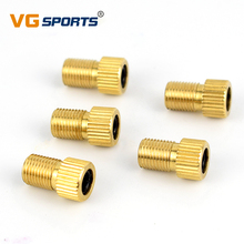 Buy 5pcs Bicycle Valves accessories Presta Schrader Valve Adapter Converter Bike Bicycle Cycle Pump Tube for $1.25 in AliExpress store