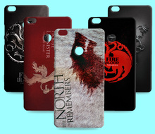 Ice and Fire Cover Relief Shell For Xiaomi Mi Max Cool Game of Thrones Phone Cases For Xiaomi Mi X Mix