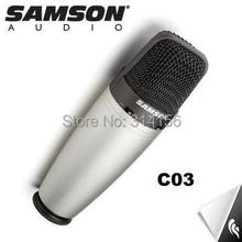Original SAMSON C03 Multi-Pattern Condenser Microphone  for recording vocals, acoustic instruments ect