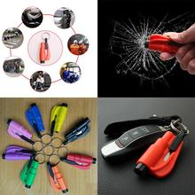 Car Styling Life Saving Hammer Emergency Rescue Tool Car Accessories Seat Belt Cutter Window BreaK tool Safety Glass Breaker