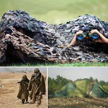 Sun Shelter 2m*3m Hunting Military Camouflage Net Woodland Army Camo netting Camping Sun ShelterTent Shade Tactical Accessories(China)