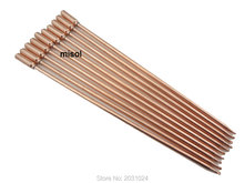 10pcs/lot of copper heat pipe (40cm), for solar water heater, solar hot water heating