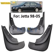 Mud Flaps For 1998-2005 VW Golf Mk4 IV Bora Jetta Mudflaps Splash Guards Front Rear Mud Flap Mudguards 2004 2003 2002 2001 2000