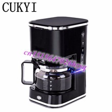 CUKYI fully automatic coffee maker mini coffee maker suitable for tea also Thermal insulation Automatic power-off Anti-dry(China)