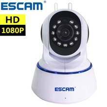 Dual Antenna Connection IP Camera 1080P 2MP Pan Tilt ONVIF IR Surveillance Cameras Support 64GB Video Monitor IP Cam Wifi QF003