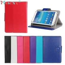 Del 7 inch Universal Crystal Pu Leather Stand Case Cover For Android Tablet PC Mar04
