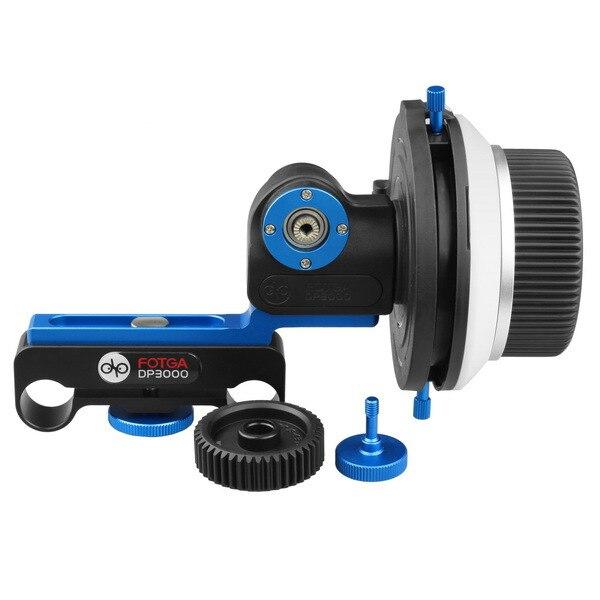 FOTGA DP3000 w/ A/B Hard Stop Follow Focus Support 15mm Rod DV Film Video f DSLR rig<br><br>Aliexpress