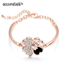 For crystal bracelet gift fashion fresh hand ring bracelets sweet jewelry accessories jewelry