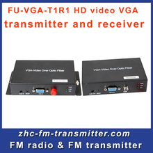 FU-VGA-T1R1 HD video VGA transmitter and receiver digital stereo for CCTV Circuit Television Link(China)