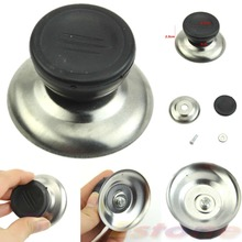 E74 2pcs New Kitchen Replacement Cooker Pan Pot Cover Kettle Knob Lid Plastic Grip S