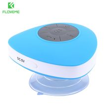 FLOVEME Waterproof Mini Bluetooth Speaker Sucker Portable Wireless Speaker Perfect Sound Stereo Music Surround Player