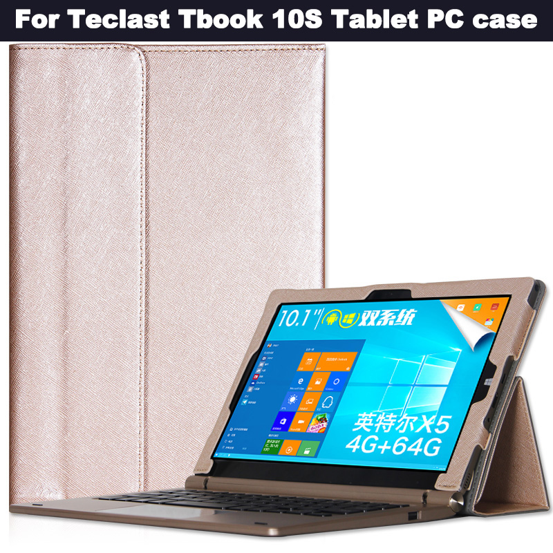 Fashion Case cover for 10.1 inch  Teclast Tbook10S Tablet PC for  Teclast Tbook10 S Tbook 10 S Case Cover with gift<br>