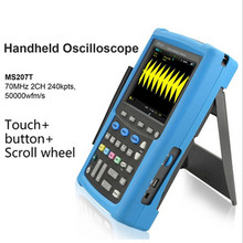 Micsig Automotive oscilloscope 70MHz digital handheld oscilloscopes diy kit portable virtual MS207T 2 channel touchscreen