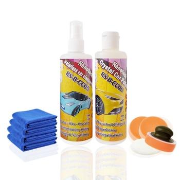 Peinture de voiture propre lavage de voiture sans eau et cire de soins de voiture peinture scratch remover éraflure de voiture réparation polonais nano pâte à polir 250 ml