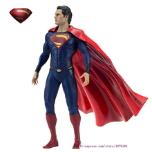 "Marvel Cool Big 12"" 30cm Justice League of America JLA Super Man Superman Movie Man of Steel PVC Action Figure Collection Toys(China)"